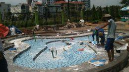 Bể Bơi trường mầm non khu đô thị Sài Đồng