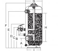Bình lọc cát SDB900-1.2