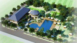 Những chú ý về phong thuỷ khi xây dựng bể bơi