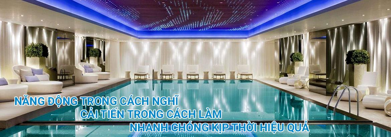 thiết bị bể bơi Tân Thiên