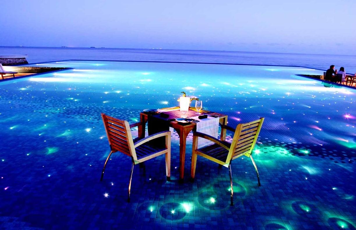 Khu nghỉ dưỡng Huvafen Fushi, tại Maldives