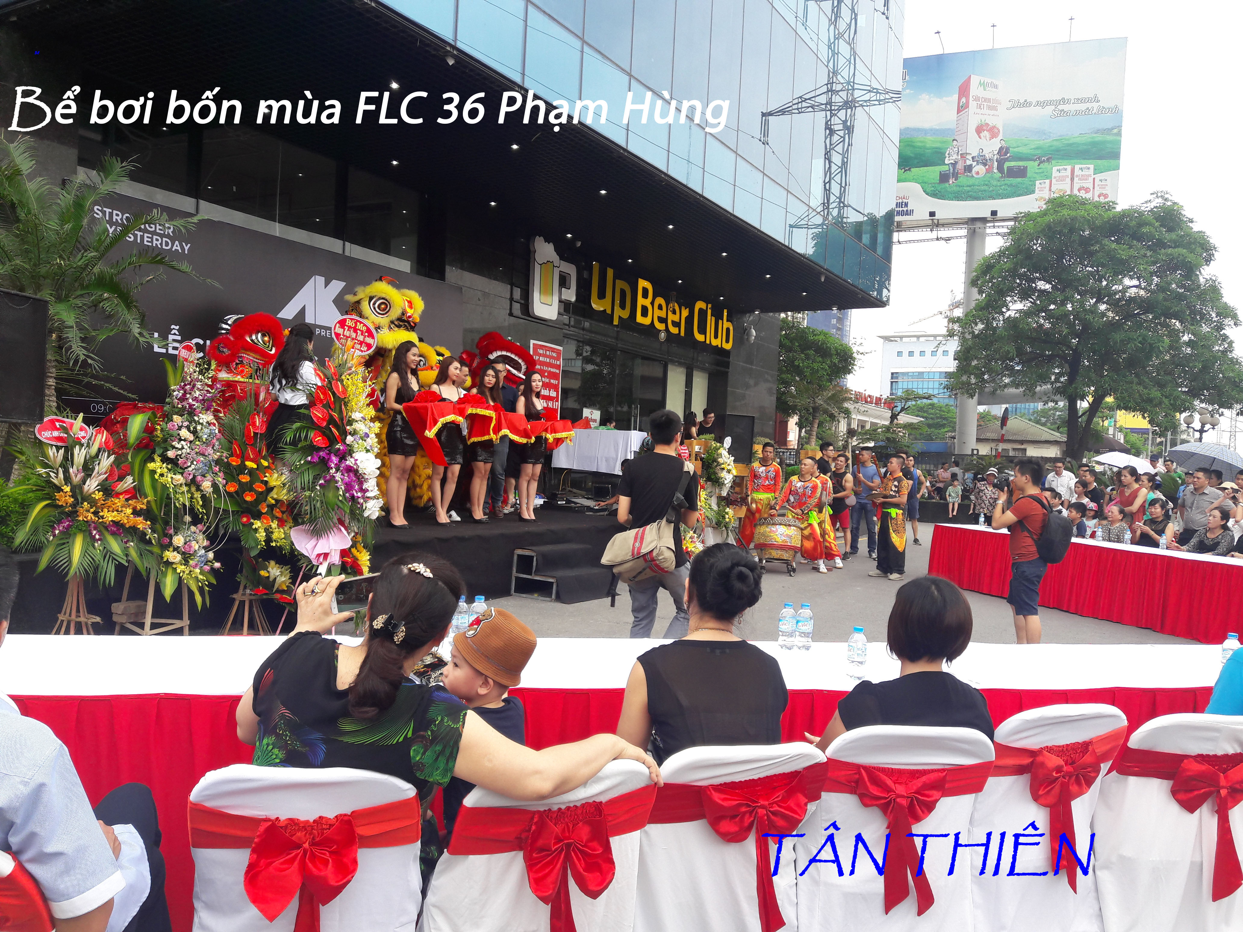 Lễ khai trương bể bơi bốn mùa FLC 36 Phạm Hùng.