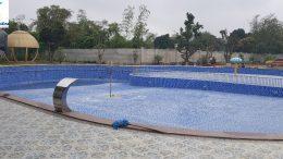 Thi công công trình bể bơi Công ty Tiến Phương – Tam Điệp – Ninh Bình