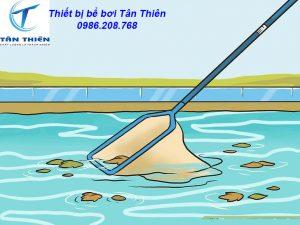 Dụng cụ vệ sinh bể bơi