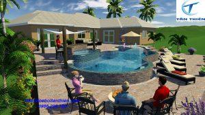 Thiết kế bể bơi đẹp