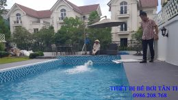 Bể bơi gia đình Ms Hiền