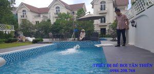 Bể bơi gia đình biệt thự