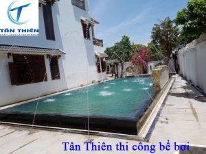 Bể bơi Tân Thiên đẹp