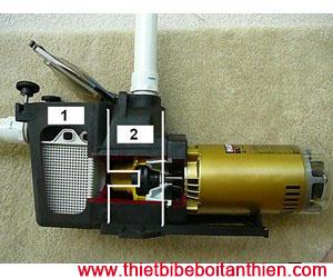 Cấu tạo máy bơm bể bơi Tân Thiên