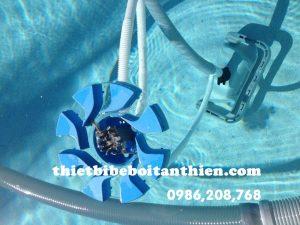 Máy hút cặn hồ bơi Tân Thiên