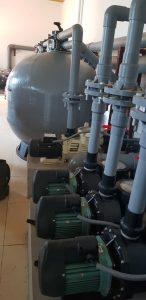 Hệ thống bình lọc cát Emaux